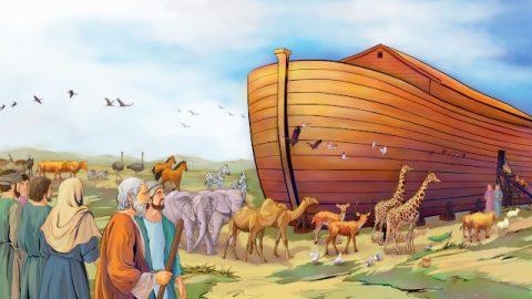 聖書映画「ノアの方舟」
