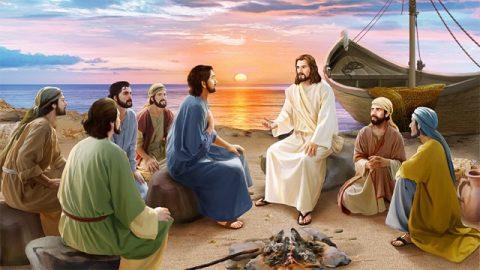 新約聖書物語,イエス・キリスト,主イエスとペテロ