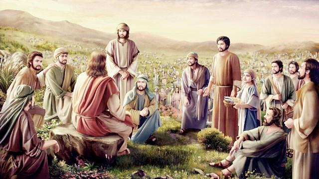 【ヨハネによる福音書】五千人に食べ物を与える