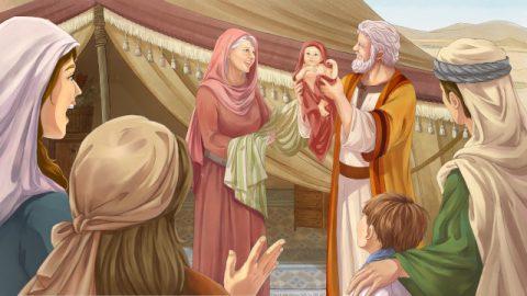アブラハムに息子を与えると神様が約束された