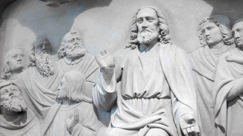 イエスは別れた時に弟子の為にお祈り