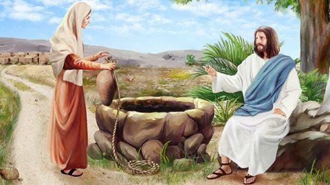 サマリアの女,新約聖書,イエス御言葉
