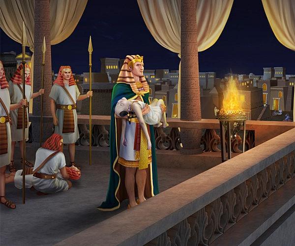 聖書物語ー出エジプト記ー初子が滅ぼされる災い