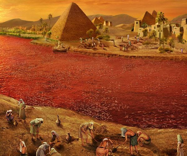 聖書物語ー出エジプト記ー血の災い