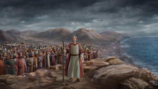 イスラエルの人々がつぶやいた,モーセは彼らのことを神に祈る