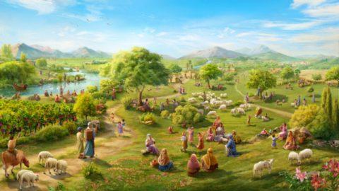 モーセが人をカナンの土地の偵察に遣わした