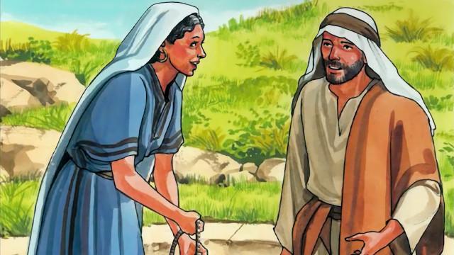 聖書を読む.賢いサマリアの女