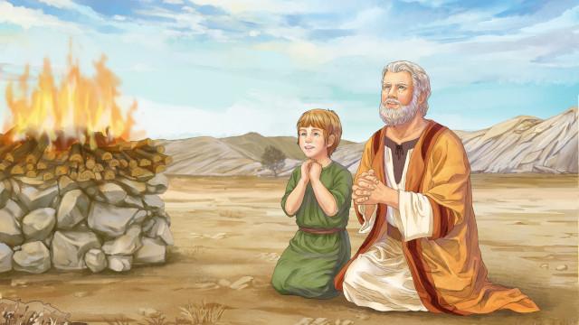 燔祭, イサクの燔祭の逸話から神様を知る