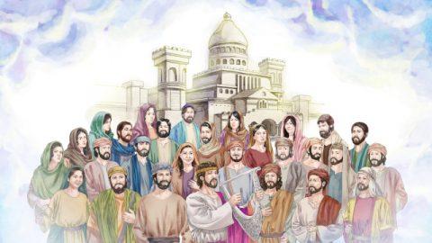 神殿を建て,ダビデの悔い改め,バテシバ
