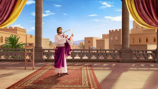 聖書の中のダビデ王はなぜ神の御心に適っていたのか