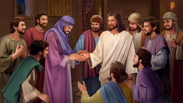 復活後のイエス,弟子,対する言葉,トマス