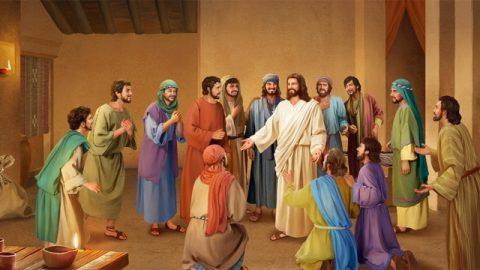 復活後のイエスによる弟子達に対する言葉