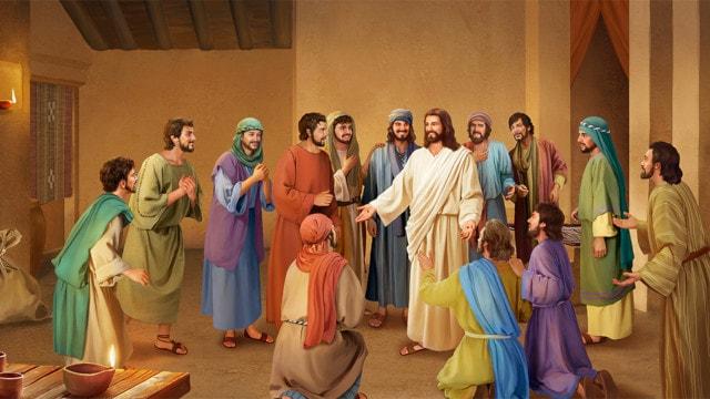 復活後のイエス,弟子,対する言葉