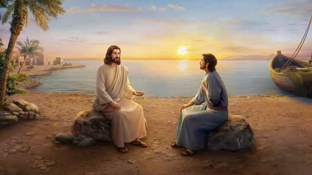 イエス,ペテロ,神に仕える,主の親友