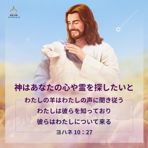 心や霊を探した,ヨハネによる福音書,