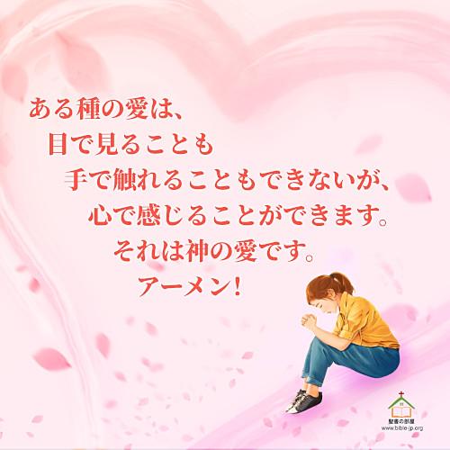 神の愛,人生の名言,触れる,感じる