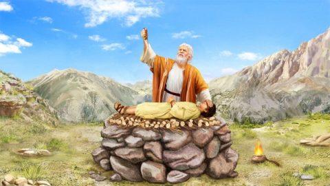 イサクを捧げる,アブラハム,命じ,イサク
