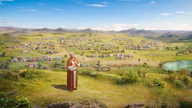 アブラハム,神の祝福,捧げ物
