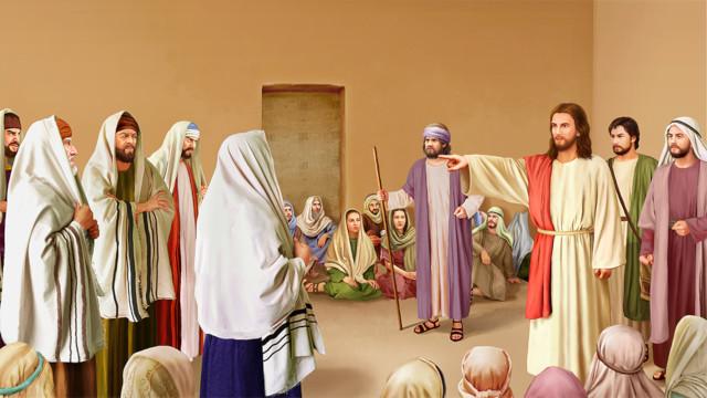 イエスによるパリサイ人に対する戒め