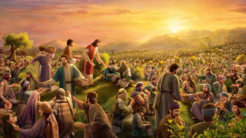 イエスによる奇跡,五つのパンと二匹の魚