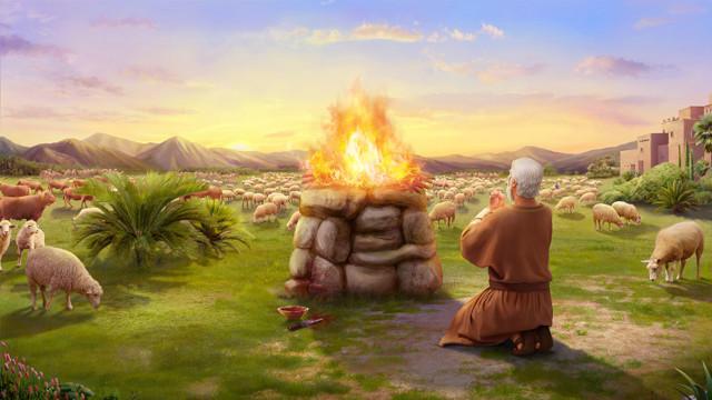 ヨブが度々息子娘達のために全焼のいけにえを捧げていたということである