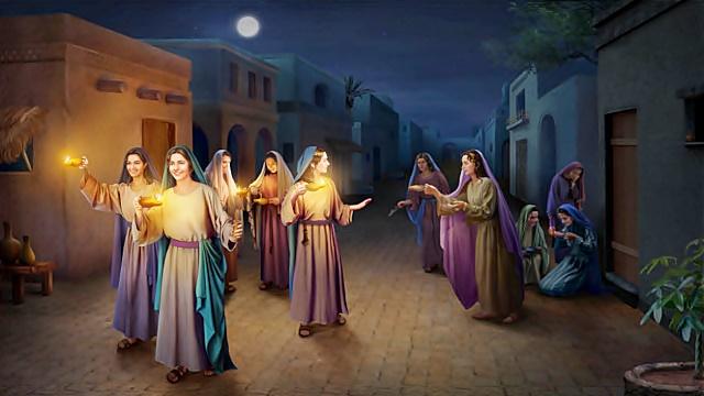 新約聖書物語 – 十人の乙女のたとえ話