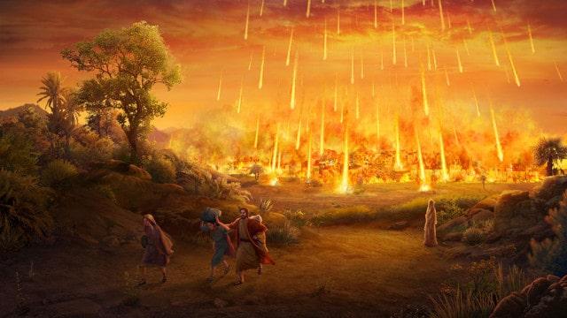 神はソドムを滅ぼさなければならなかった,神の怒り