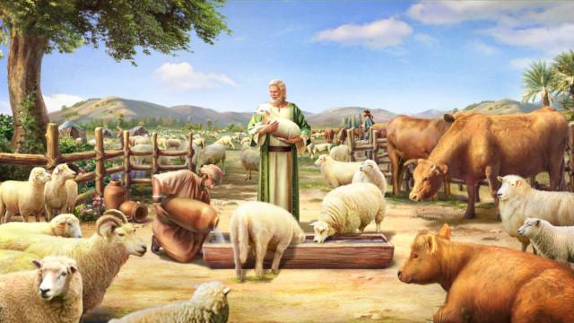 主から授かる物質的な祝福