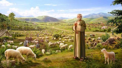 ヨブは神の名を称え、祝福を受けるか災いに遭うかは考慮しない