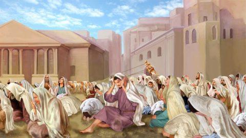 神は、ニネベの人々の心の底からの真摯な悔い改めを確認した