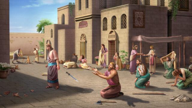 神への信仰,頻繁に神の労りを与えられる,ニネベの人々