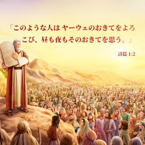 聖句カード,詩篇,昼も夜も思うこと,主のおきてをよろこび