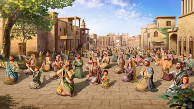 人類に対する創造主の真摯な思い入れ,ニネベの町