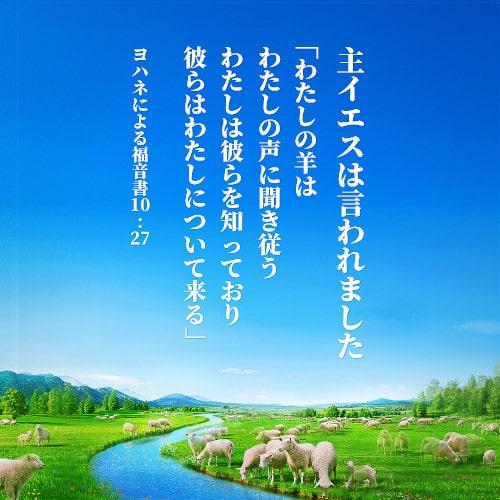 神様の羊は神様の声を聞く