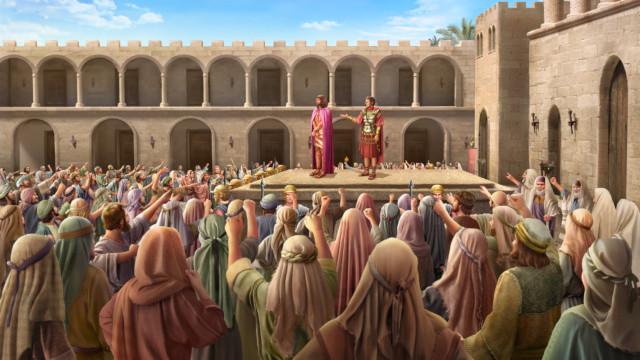 イエスは死刑に処せられた